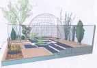 Design for Royal Horticultural Society Show, Tatton Park